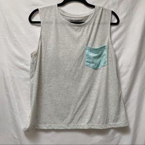 💥3 for $20💥Stranded sleeveless muscle Shirt